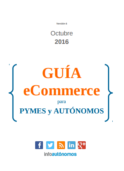 Guía ecommerce para autónomos y pymes 2016