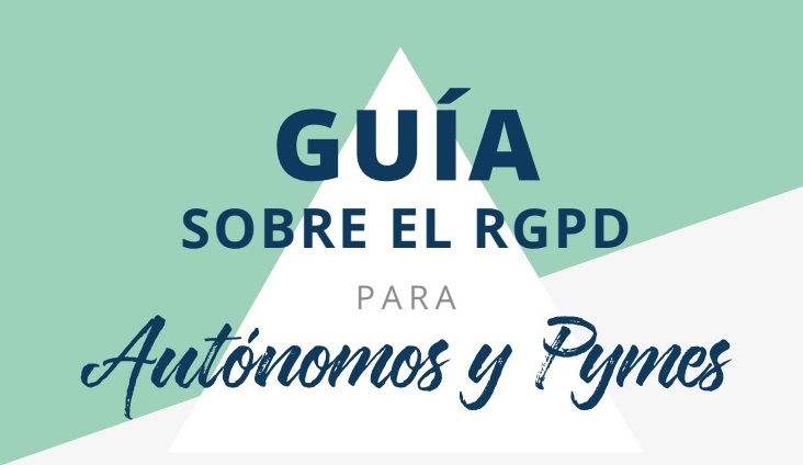 Portada Guía RGPD autónomos y pymes