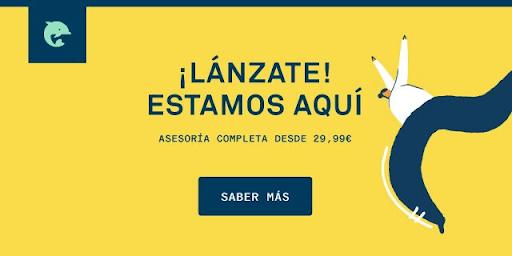 enlace a nueva campaña de asesoría Lánzate