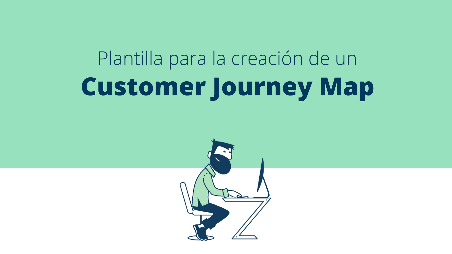 Plantilla de un Customer Journey map