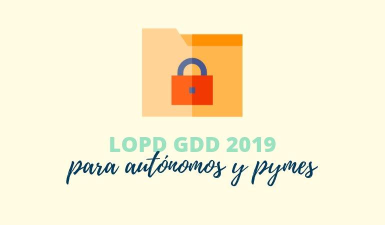La Ley de Protección de Datos 2019