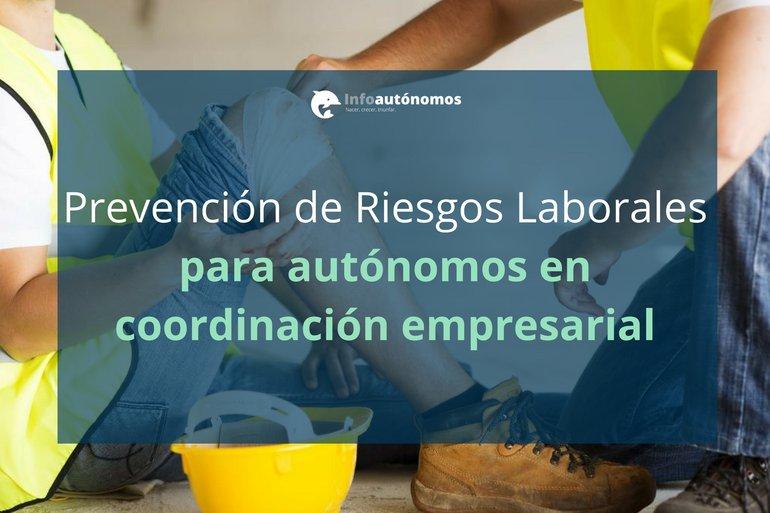 PRL para autónomos en coordinación empresarial