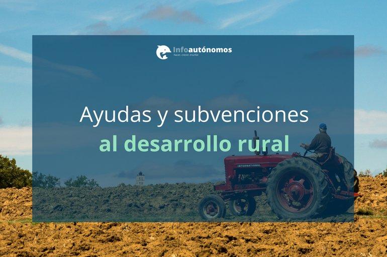 Ayudas y subvenciones al Desarrollo Rural