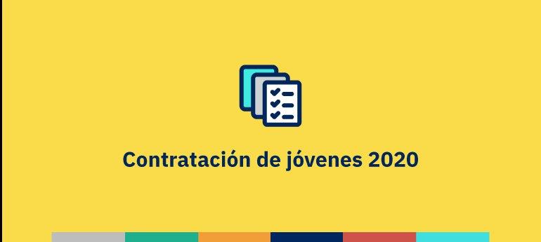 Bonificaciones 2020 a la contratación de jóvenes