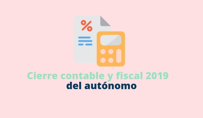 Cierre contable y fiscal 2020