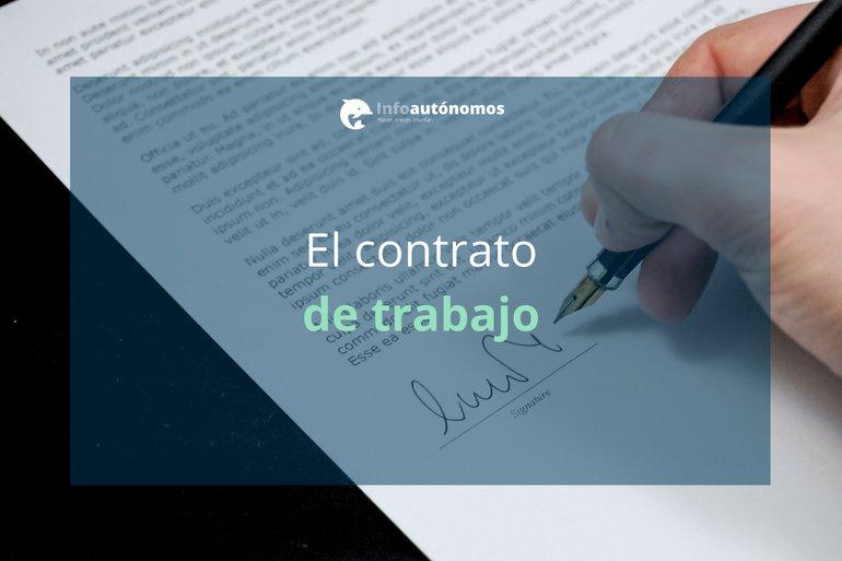 Contrato De Trabajo Contenidos Y Procedimiento