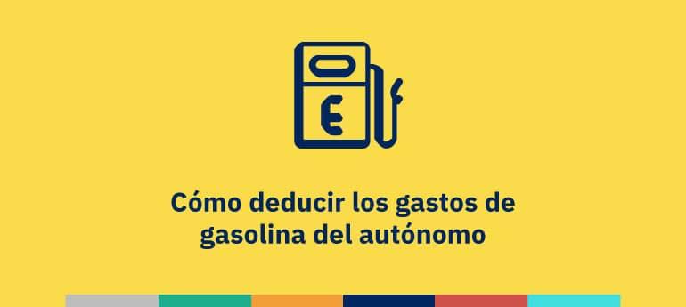 Cómo deducir gastos de gasolina