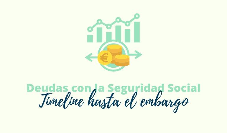 Deudas con la Seguridad Social: Timeline hasta el embargo