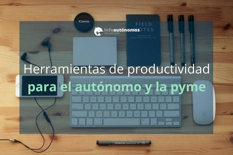 23 Herramientas de productividad para autónomos y pymes