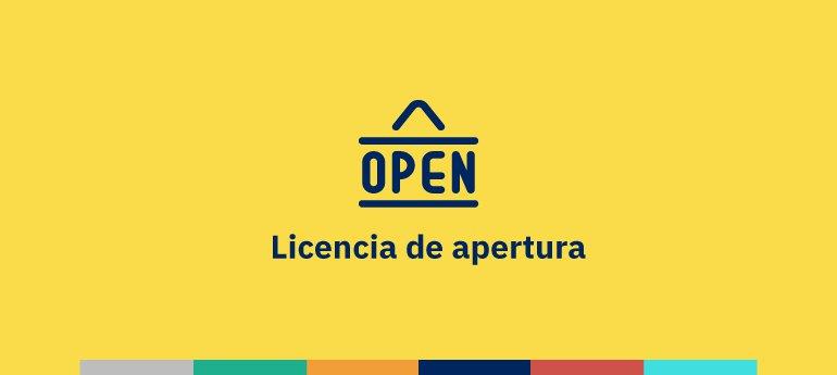 Licencia de apertura y actividad de un establecimiento