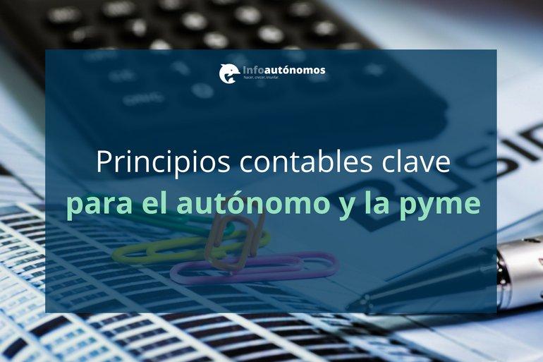 Principios contables para autónomos y pymes