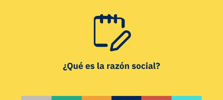 Qué es la razón social