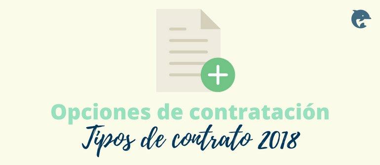 Contratos de Trabajo en 2018