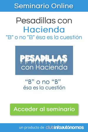 """Pesadillas con Hacienda: """"B"""" o no """"B"""", ésa es la cuestión"""