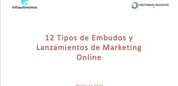 12 embudos y lanzamientos de marketing online