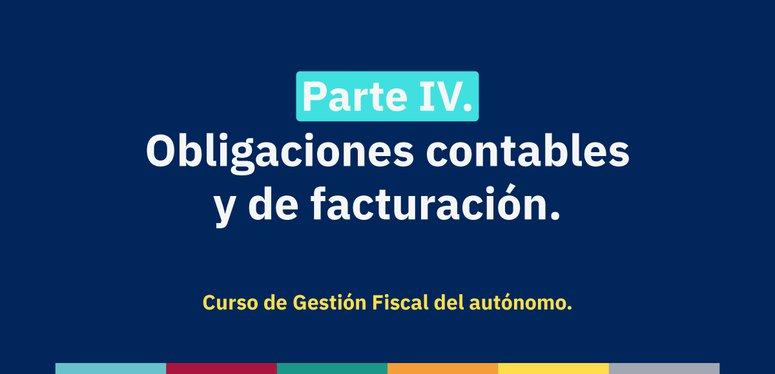 Gestión Fiscal: Obligaciones fiscales y de facturación
