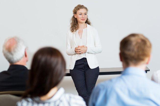 Presentaciones verbales efectivas e impactantes