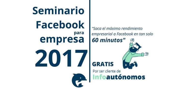 Crear tu página empresarial en Facebook