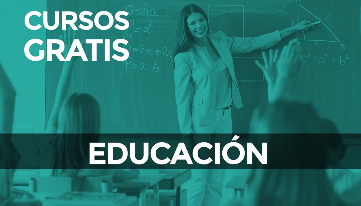 Cursos gratuitos para el sector educación