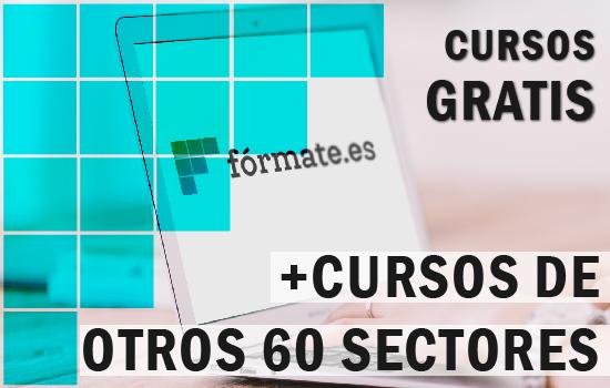 60 sectores, con más de 500 cursos gratis