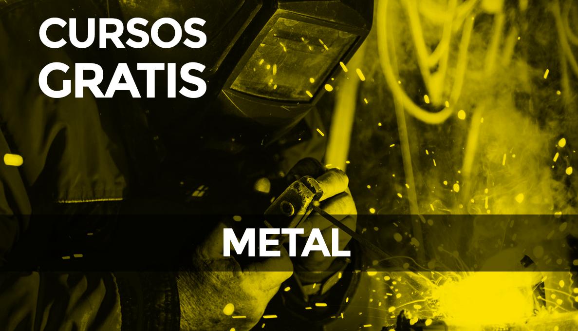 Cursos gratuitos para el sector metal