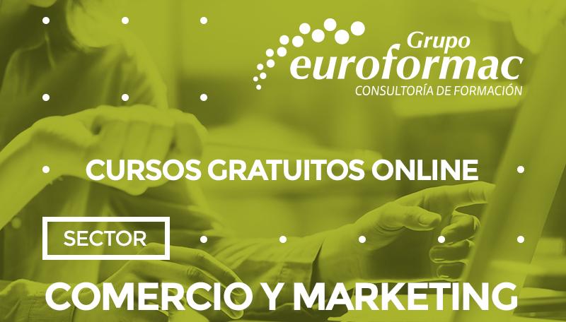 Cursos gratuitos para el sector comercio y marketing